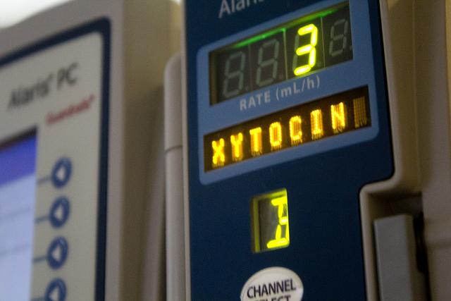 oxytocine infuus